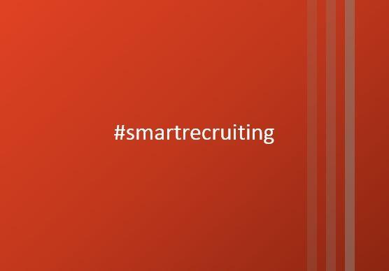Symbolbild Hashtag smartrecruiting