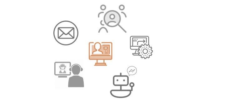 Prozessdigitalisierung HR Icons